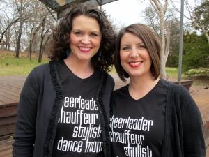 Malena Lott (left) and Jill Martin
